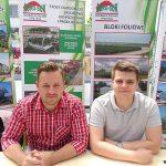 Arkadiusz Marciniak i Paweł Płoński z firmy Agro-Sur_Dni Otwarte Plantpol 2019