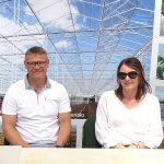 Jerzy i Karina Kazimierczakowie z firmy Kazimierczak_Dni Otwarte Plantpol 2019