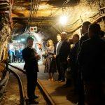 Uczestnicy jubileuszu firmy Farmer w kopalni soli w Bochni