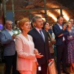 Wśród gości byli także Alicja i Stanisław Zabarscy