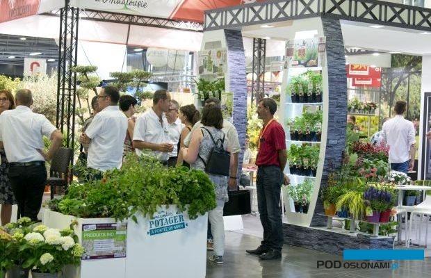 Międzynarodowe targi roślin ozdobnych Salon du Végétal po raz pierwszy odbędą się we wrześniu (tu migawka z ubiegłorocznej, czerwcowej ich edycji