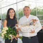 Joanna i Sebastian Janasowie byli gospodarzami dnia otwartego firmy Enza Zaden
