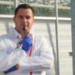 Prezentację odmiany Enroza w szklarni prowadził Mateusz Janas z firmy Enza Zaden