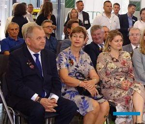 Wśród honorowych gości targów byli m.in. (w 1. rz. od lewej): wiceminister rolnictwa Ryszard Zarudzki, Ambasador Królestwa Niderlandów w Polsce Daphne Bergsma oraz Radca ds. rolnych Carolien Spaans