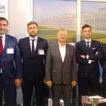Zieleń to Życie 2019_załoga firmy Agro-Sur (od lewej): Artur Caban, Andrej Silo, Wojciech Surowiec (właściciel), Adam Stępień, Arkadiusz Marciniak