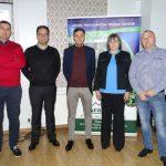 Organizatorzy i wykładowcy zorganizowanego w Przytyku seminarium nt. produkcji rozsady papyki