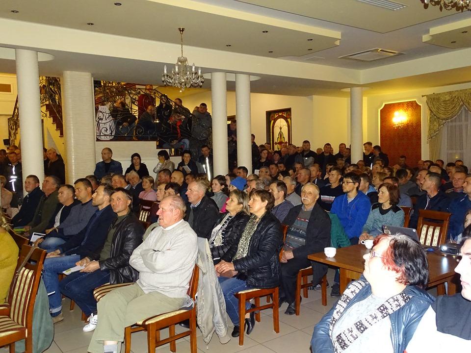 Na konferencję przybyło ponad 350 producentów papryki z południa Mazowsza