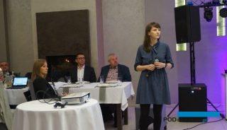 Możliwości biologicznej ochrony pomidorów przed szkodnikami i chorobami omawiała Sabina Łukaszewicz z firmy Koppert