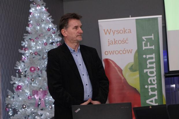 Grupę Inco reprezentował Ryszard Przybylski, który przedstawił ofertę nawozów do profesjonalnych upraw ogrodniczych