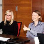 Markę De Ruiter podczas spotkania w Piasecznie reprezentowały m.in. Anna Wojciechowska (z lewej) i Paulina Janicka