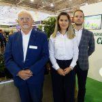 Jan Ciepłucha (po raz 23. wystawca IPM Essen) z córką Anną Ciepłuchą-Kowalską i jej mężem Krzysztofem _IPM Essen 2020