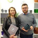 Marzena Marciniak-Ziomek i Przemysław Ziomek z firmy MZ Forma_IPM Essen 2020