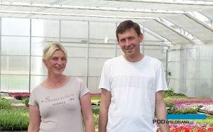 Anna i Dariusz Kwietniowie, właściciele gospodarstwa ogrodniczego Diant-Pol Polska, fot. A. Cecot