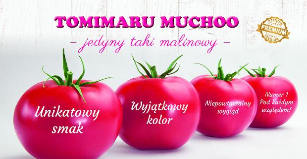 Tomimaru Muchoo - jedyny taki malinowy!