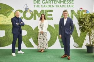 Digital European Press Conference, Stefan Lohrberg, Director spoga + gafa, Catja Caspary, Vice President, Oliver Frese, Chief Operating Officer, Eingang Nord