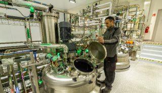 Bioreaktory do namnażanie mikroorganizmów mają różną pojemność, Intermag