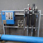 Zestaw do uzdatniania wody metodą odwróconej osmozy, fot. A Cecot