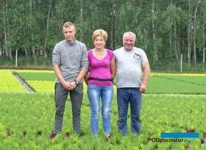 Mateusz, Agata i Grzegorz Meresowie