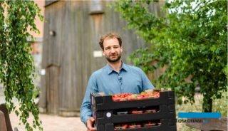 Drogę owoców z plantacji na talerz zaprezentował Mikołaj Rey