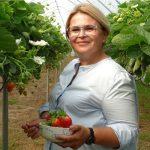Aleksandra Pietruszka zachęcała do spożywania pysznych polskich truskawek