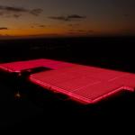 Szklarnie z uprawą pomidorów malinowych doświetlanych lampami LED (Piotrowice)