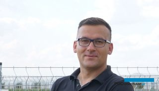 Łukasz Gębka - prezes Farmy Świętokrzyskiej