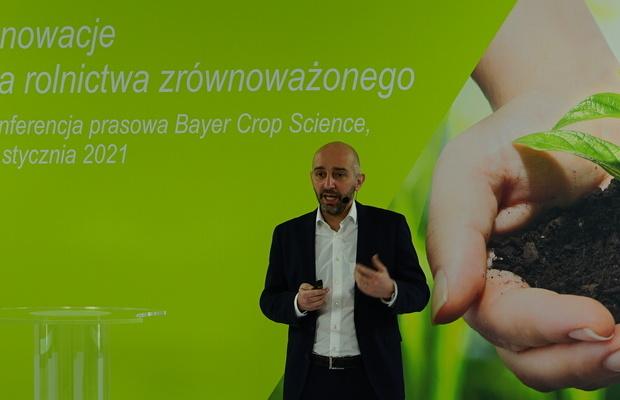 Antoine BernetAntoine Bernet - szef działu Crop Science w Bayer dla Polski, Krajów Bałtyckich, Czech i Sowacji