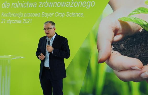 Radosław Suchorzewski przedstawił nowe możliwości ochrony upraw ogrodniczych produktami firmy Bayer Crop Science