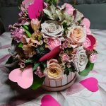 Flower box_walentynki 2021_Floristica