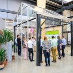 Centrum Inspiracji stanowi jedną z nowych części gospodarstwa Ter Laak Orchids- fotograaf BAS KOOIJ