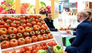 Międzynarodowe Targi Owoców i Warzyw Fruit Logistica w tym roku planowane są na maj (na zdjęciu migawka z ubiegłorocznej odsłony tego wydarzenia), fot. Messe Berlin