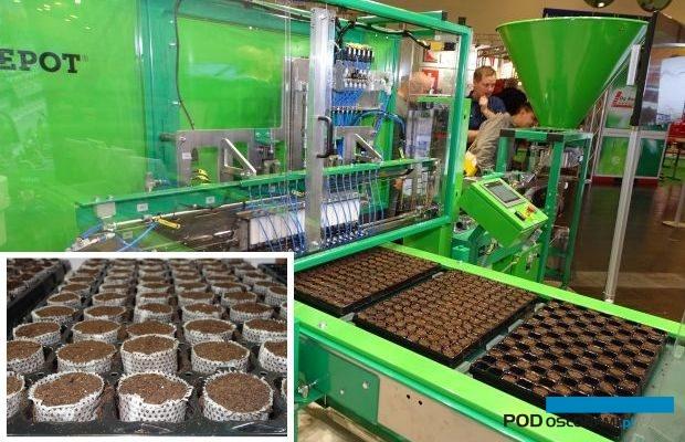 Fuzja firm Ellepot i PlantPaper ma poszerzyć ofertę dotyczącą systemu produkcji doniczek typu paper-pot, fot. A. Cecot