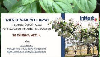 Dzień Otwarty Instytutu Ogrodnictwa 2021