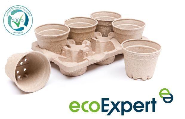"""Produkty z serii ecoExpert wykonane z tektury """"z odzysku"""" i w 100% biodegradowalne, fot. Modiform"""