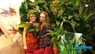 """""""Zielone"""" rośliny doniczkowe to coraz bardziej pożądane na rynku produkty, którymi żywo interesują się młodzi klienci, fot. A. Cecot"""