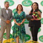 W imieniu pracowników Ogrodnictwa Nowaccy p. Monika dziękuje szefom za ich stosunek do załogi, która silnie identyfikuje się z firmą