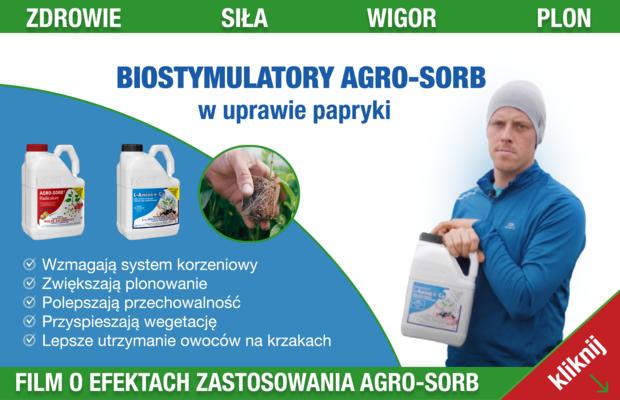 Biostylmulatory AgroSorb w artykule