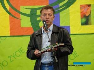 Dr Adam Marosz odebrał Honorowy Zielony Laur, fot. A. Cecot