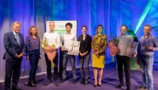 Ceremonia wręczenia nagród w konkursie o GreenTech Innovation Awards 2021, która odbyła się 28 września w Amsterdamie; fot. GreenTech