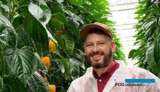 Marcin Piechota z kanadyjskiego oddziału firmy Bayer Crop Science przekazał informacje na temat wysokiego reżimu higienicznego w szklarniach w Kanadzie