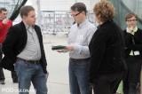 Karol Szymański (z lewej) z firmy Everiss udzielał porad z zakresu nawożenia