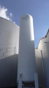Dwutlenek węgla używany do dokarmiania roślin w tym obiekcie dostarczany jest przez firmę ACP