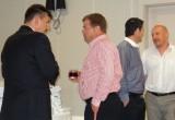 Przed wykładami - pracownicy firmy Grodan, od lewej dr Krzysztof Fatel, Cezary Chojecki, Ben Nikaj oraz Tomasz Kosch
