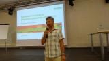 Stanisław Zabarski (WODR - Centrum Doradztwa w Kaliszu) zapraszał na kolejną edycję Międzynarodowych Dni Ogrodnika w Gołuchowie