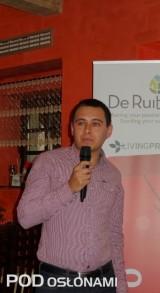 Kamil Bartkowski z firmy Monasanto przedstawił charakterystykę odmian ogórków