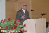 Prof. dr hab. Stanisław Rożek (UR w Krakowie) mówił nt. roli światła w procesach życiowych roślin