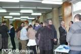 W przerwie między wykładami - w seminarium uczestniczyli naukowcy, ogrodnicy oraz studenci krakowskiej uczelni