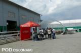 Współorganizatorami Dnia Otwartego w firmie Metazet był Agrimpex (stoisko na pierwszym planie) oraz FHU Farmer (tunel w tle)