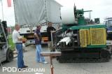 Demonstracja maszynowego formowania rynny uprawowej z blachy nawiniętej na bęben. fot. 1-9 A. Wize